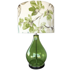 Greeny Glass Table Lamp