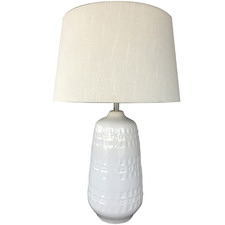 Pure Ceramic Table Lamp
