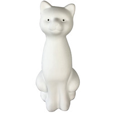 Ceramic Kitty Table Lamp