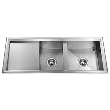 Avantgarde Double Bowl with Single Drainer Sink