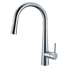 Gourmet High Rise Sink Mixer with Pull Out Hand Spray
