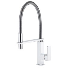 Gourmet High Rise Spring Hose Sink Mixer
