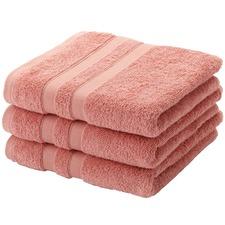 Terracotta alypso 500GSM Cotton Bathroom Towels
