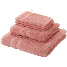 Terracotta alypso 500GSM Cotton Bathroom Towels