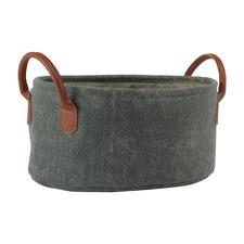 York Cotton-Blend Storage Basket