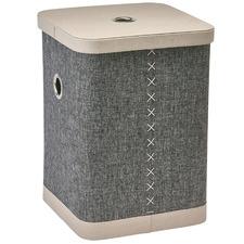 Steel Grey Fraser Laundry Basket
