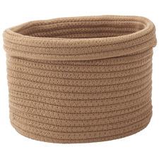 Round Rena Cotton Storage Basket