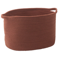 Oval Rena Cotton Storage Basket