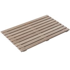 Mink Oak Wood Bath Mat