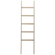 Mink Oak Wood Ladder Towel Rail