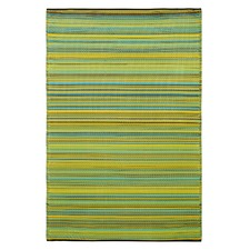 Cancun Lemon and Apple Green Rug