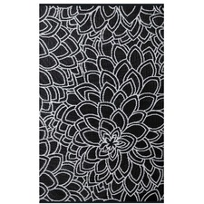Eden Black and White Rug