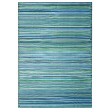 Cancun Aqua Outdoor Rug