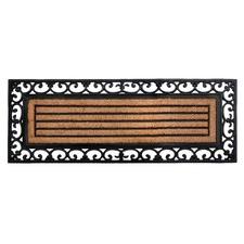 Nautica Rubber Border Doormat