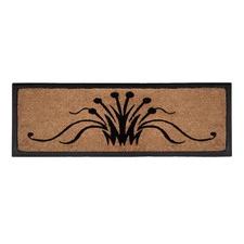 Swirls Rubber Border Doormat