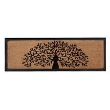 Tree of Life Rubber Border Doormat