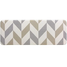 Gainsboro Herringbone Reversible House Mat