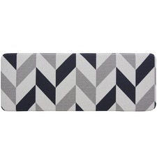 Grey Herringbone Reversible House Mat