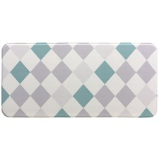 Simple Diamond Reversible House Mat
