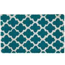 Blue & White Girih Tile Doormat