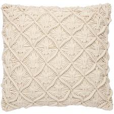 Snowdrop Cotton Cushion