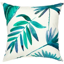 Blue Botanica Outdoor Cushion