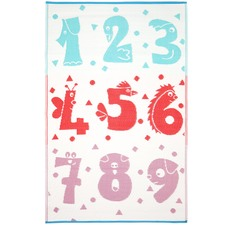 Little Portico Numbers Rug