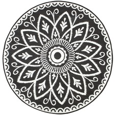 Benaras Reversible Round Outdoor Rug
