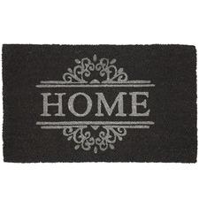 Monochrome Home Coir Doormat