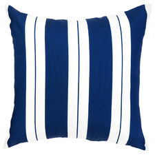 Blue & White Striped Marella Outdoor Cushion