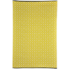 Yellow Kimberley Outdoor Rug