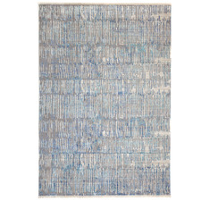 Blue Crupet Distressed Rug