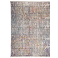 Multi-Coloured Crupet Distressed Rug