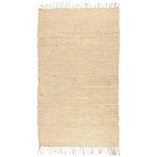 Natural Chandan Hand-Woven Jute Rug