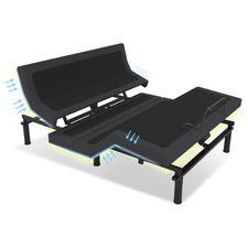Black Nunez Steel Motion Bed