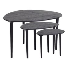 Corey Black Tables (Set of 3)
