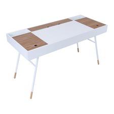 Morse White & Oak Desk