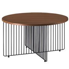 Walnut & Black Hagen Coffee Table
