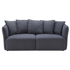 Charcoal Gino 2 Seater Sofa