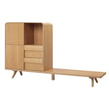 Ash Veneer Edmund reversible Entertainment Unit
