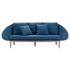 Blue Daxon 3 Seater Sofa