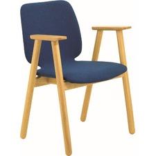 Elsie Oak Wood Armchair