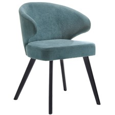 Teal Earl Dining Chair
