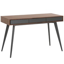 Walnut & Dark Grey Gabe Desk