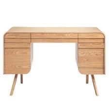 Ashe Veneer Celio Office Desk