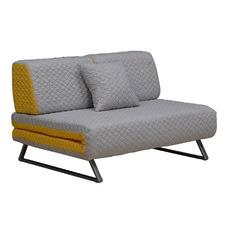Chartreuse & Grey Laban Sofa Bed