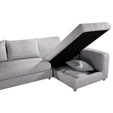 Sarah Corner Sofa Bed with Storage Chaise