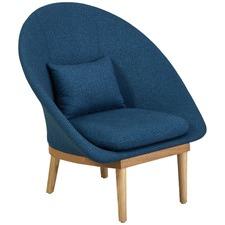 Blue & Ash Febian Lounge Chair