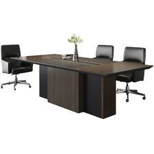 Coffee Oak Luna Boardroom Table