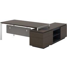 Kyden Executive Desk with Reversible Return
